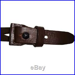 Leather Sling for German Mauser K98 WWII Rifle x 10 UNITS tY268