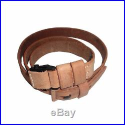 Leather Sling for WWII German Mauser K98 98K Rifle Natural Repro x 10 UNITS g734