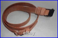Leather Sling for WWII German Mauser K98 98K Rifle Natural Repro x 10 UNITS zE2
