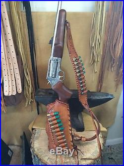 Leather gunstock Butt Stock And Sling cover shell holder Rossi circuit judge