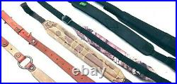 Lot of Rifle Slings (5) Leather + HUNTER included, plus other colors