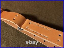 M1907 Competition Leather Rifle Sling M40A1, M40A2, M24