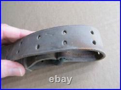 M1907 US Leather Rifle Sling for 1903 Springfield Rifle B. T. & B Co 1 Military