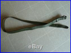 M1909 Argentine Mauser Rifle Sling Green Leather M1891 Model1909 Argentina