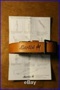 Marlin Horse & Rider Rifle Sling With QD Swivels & Instructions Excellent