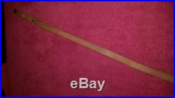 Marlin leather rifle sling horse and rider very rare