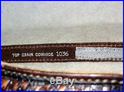 NOS Vintage AA&E Leather Craft Rifle/Shotgun Sling Gun Strap Padded #1036 (8)