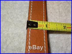NOS Vintage AA&E Leathercraft Rifle/Shotgun Sling Gun Strap (1001) Top Grain