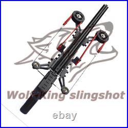 New Powerful Slingshot Rifle Portable Semi-Automatic 40BB Enhanced Sling Bow