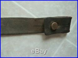 Original Arasaka Japanese Leather Rifle Sling Type 99 38 Army w Characters
