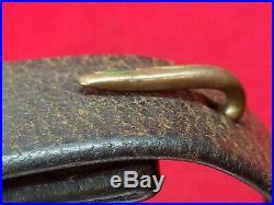 Original Civil War Leather Carbine or Short Rifle Sling