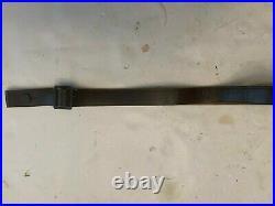 Original HK 308 German Leather Rifle Sling Excellent Condition