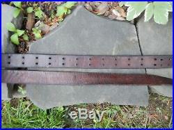 Original Leather Us Military Krag, Trapdoor & Springfield Rifle Sling