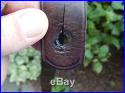 Original Leather Us Military Model 1887 Krag Trapdoor & Springfield Rifle Sling