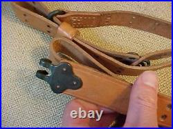 Original Vintage Us Military Mrt Leather Rifle Sling Lot Of 3 M1 / 1903