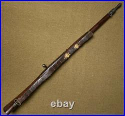 Original WWI Era U. S. M1907 Leather Rifle Sling, Marked G. & K. 1918