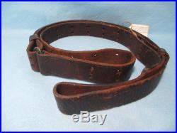 Original Ww-i Issue U. S. M-1907 Leather Sling For M-1903, M-1917 & M-1 Rifles