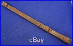 Original Wwii Era Us M1907 Leather Sling For M1 Garand & 1903 Springfield Rifle