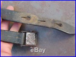 Original Wwii German K-98 Mauser Leather Rifle Sling
