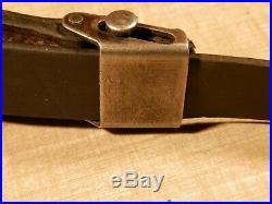 Original Wwii Rifle Sling Mauser 98k G41 G43 Mp40 Mp44 Stg44 Leather Ww2 German