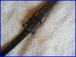 Original german GEW88 gew 88 commission rifle complete leather sling w swivel