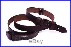 (PACK OF 20) Repro WWII German Heer Waffen K98 98K Leather Rifle Sling