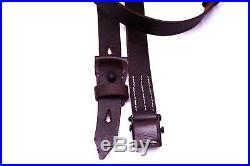 (PACK OF 5) Repro WWII German Heer Waffen K98 98K Leather Rifle Sling