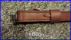 Premium Padded Leather Rifle Sling