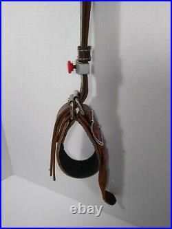RARE Hunting Leather gun rifle strap holster sling Fully Adjustable device