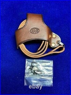 RLO Custom Leather No Drill Rifle Sling