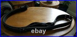 Ron Brown Custom Match Rifle Sling, black, 54 length, 1 1/4 width