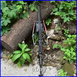 Slingshot Rifle Hunting Catapult Continuous Shooting 40-rounds Ammo and Arrow