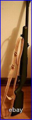 Stamped Leather Rifle Sling-Spire & Starburst 2-Week Lead Time