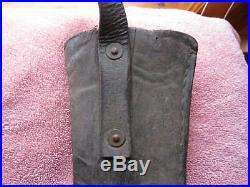 Super Rare Civil War Confederate Maynard Carbine Leather Sling rifle holder