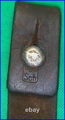 Swiss Vetterli / Early Schmidt Rubin Rifle Leather Sling-original