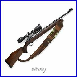 Tactical Gun Sling Shoulder Carry Strap Ammo Holder Adjustable Hunting Shooting