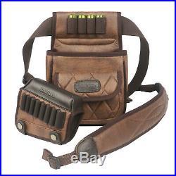 Tourbon Rifle Shooting Cartridges Holder Cheek Rest Riser+Gun Sling+Hunting Pack
