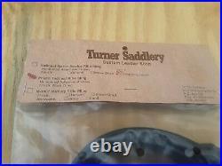 Turner Saddlery police tactical rifle sling black leather 50