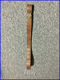 US Military M1907 Leather Rifle Sling