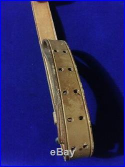 US Military M1907 Leather Rifle Sling Vietnam War 1964