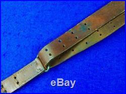 US WW1 Model 1907 Milsco 1943 Model 1903 Rifle Leather Sling