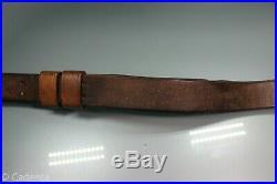 US WW1 WW2 USGI M1903 M1 Garand M1907 Leather Rifle Sling Good Cond No Marking 1