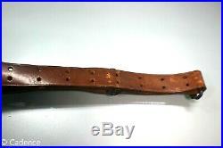 US WW2 USGI M1903 M1 Garand M1907 Leather Rifle Sling Milsco 1943. Nice! 3