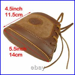 USA Canvas Leather Recoil Pad Rifle Gun Ammo Sling For Marlin 1895336308MX
