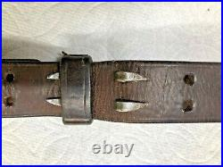 Us Leather Rifle Sling M1907 Hickok
