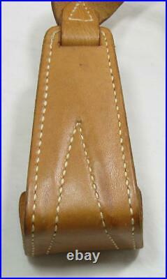 VTG Leather Boyt Shotgun Rifle Butt Rest Sling Strap Buttstock USA Hip Buttpad