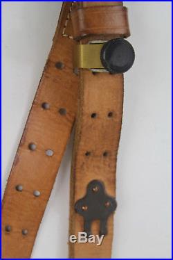 VTG US WW1 WW2 Model Rifle Leather Sling