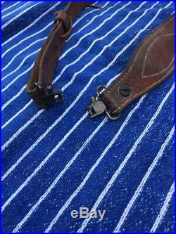 Vintage Bianchi Cobra Leather Rifle Sling #63