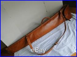 Vintage Del Cazador Leather Crafters Leather Double Shotgun Sling Case