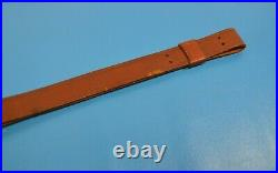 Vintage Model 1907 Style Military US M1 Garand Leather Sling Red Head Duck Brand
